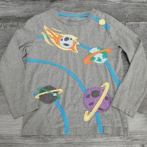 Mini Boden planets long sleeve t-shirt
